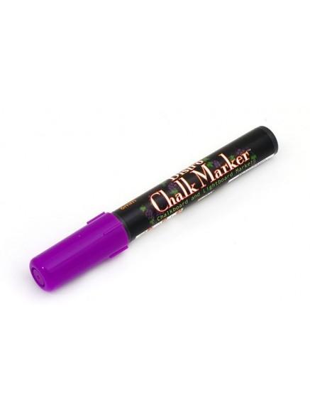 Меловой маркер Bistro 1,5-6мм фиолетовый