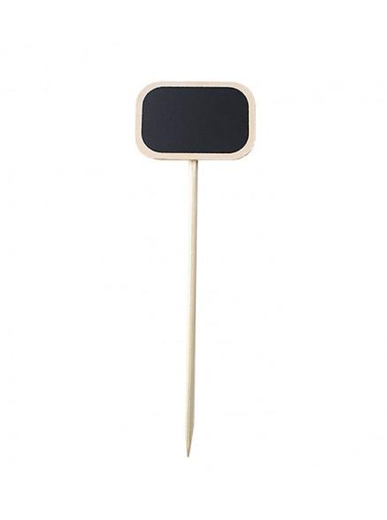 Меловая табличка 7х10см на деревянной палочке