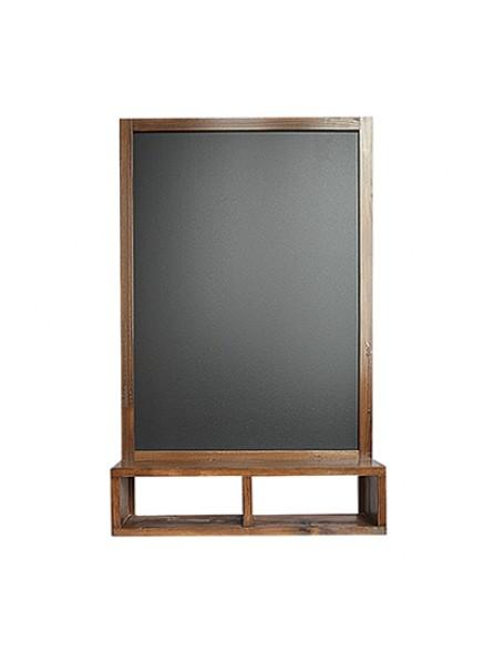 Chalkboard Меловая доска с полкой 90х57 см.