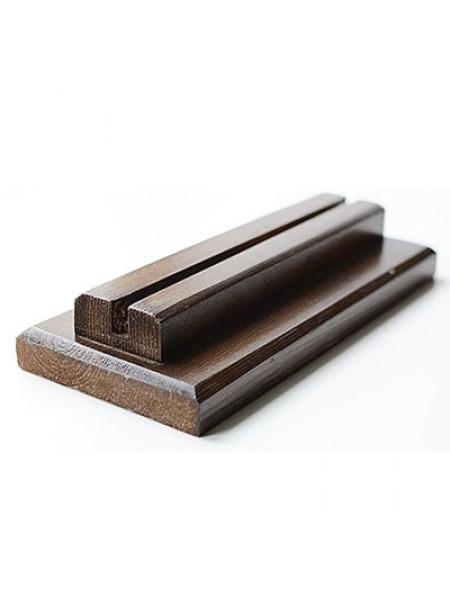 Подставка деревянная для меловых фигур, табличек