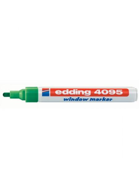 Меловой маркер Edding 2-3мм зеленый