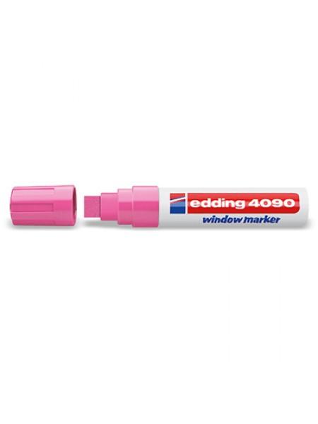 Меловой маркер Edding 4-15мм розовый