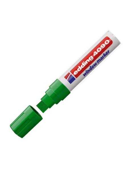 Меловой маркер Edding 4-15 мм зеленый