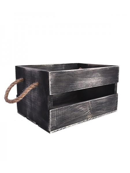 Ящик с канатами 30х20х17 (5089) Блэк