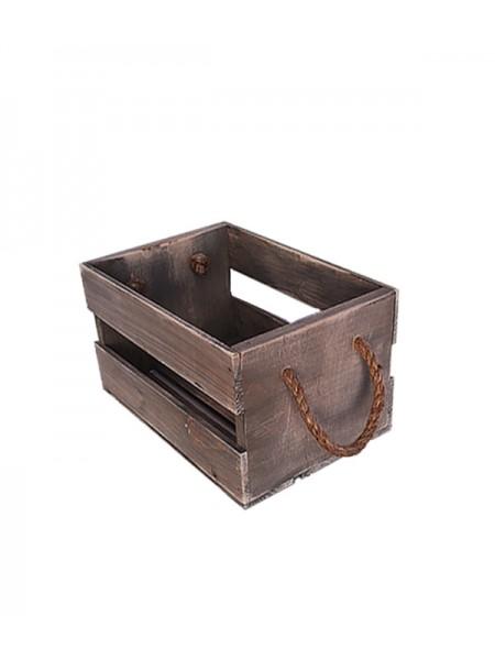 Ящик с канатами 30х20х17 (5087) Браун
