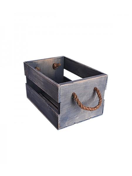 Ящик с канатами 30х20х17 (3455) Блю