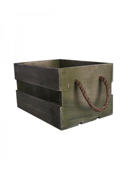 Ящик с канатами 30х20х17 (5066) Грин