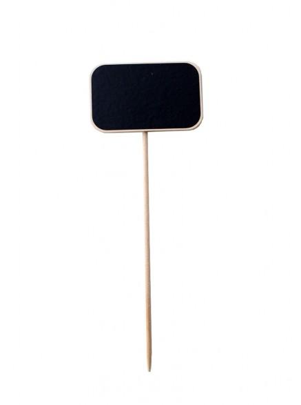 Меловая табличка 5х8 см на деревянной палочке