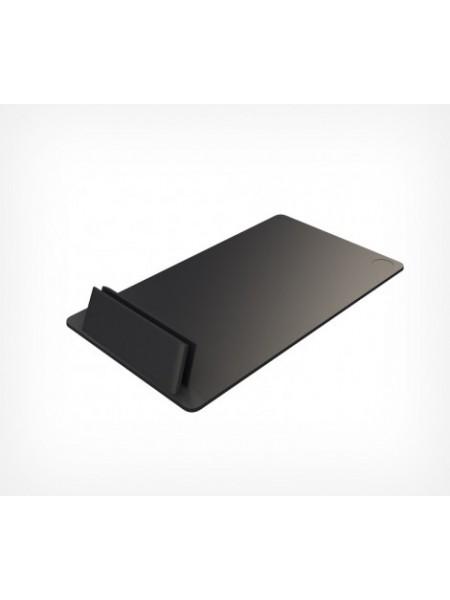 Держатель ценника пластиковый под углом 75°, черный