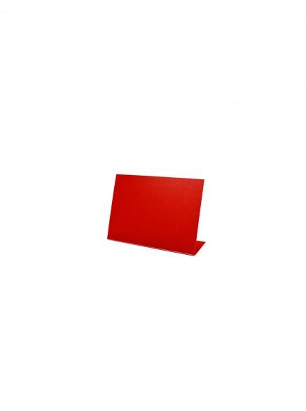 Меловой ценник А8-L красный