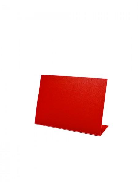 Меловой ценник А7-L красный