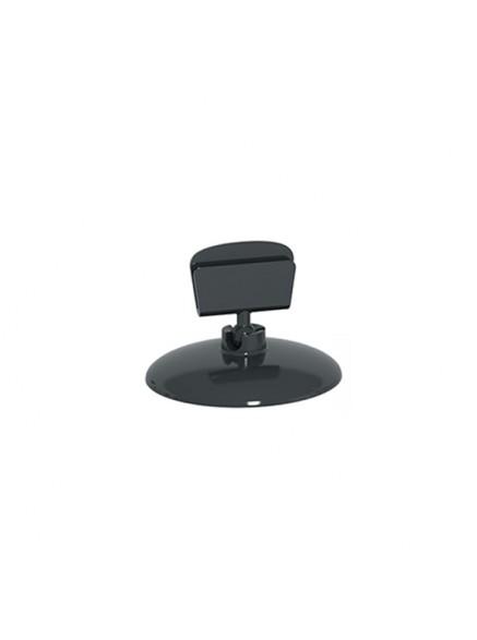 Ценникодержатель на круглой подставке BASE CLIP черный
