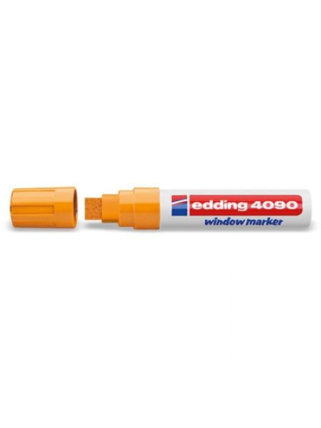 Меловой маркер Edding 4-15мм оранжевый