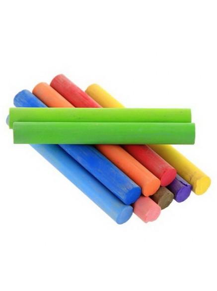 Мел цветной круглый 1 шт, Maped ColorPeps