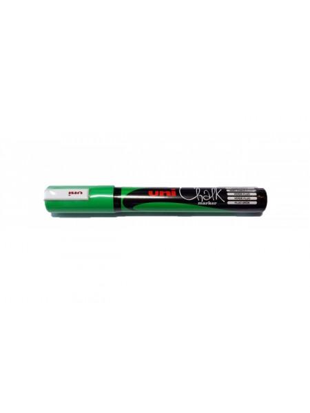 Маркер меловой Uni Chalk (1.8-2.5мм) зеленый