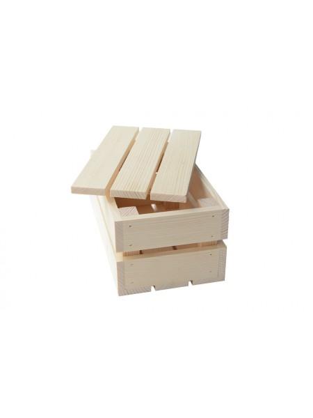 Ящик 20х13х10 с крышкой Сосна