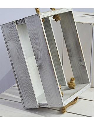Ящик с канатами 30х20х17 (E20) Олдвайт