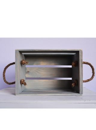 Ящик с канатами 30х20х17 (5084) Прованс
