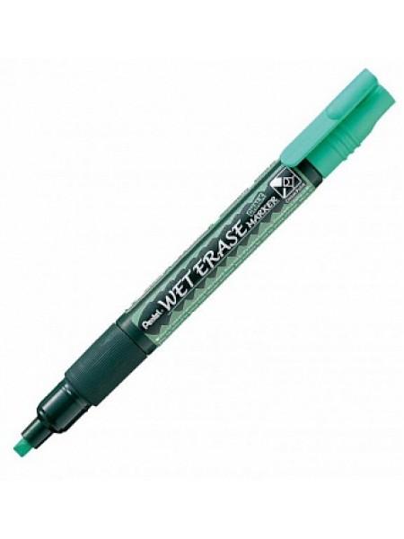 Меловой маркер Pentel 2-4мм зеленый