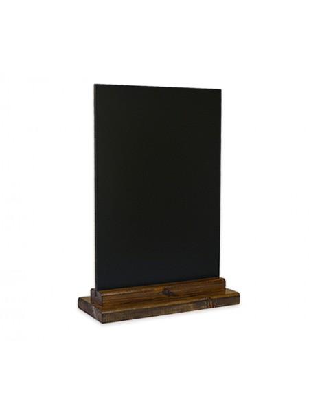 Меловая табличка А4 на подставке из сосны (Пал)
