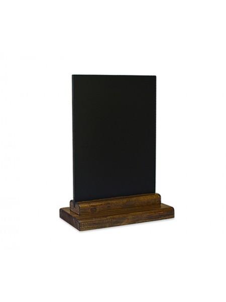 Меловая табличка А5 на подставке из сосны (Пал)