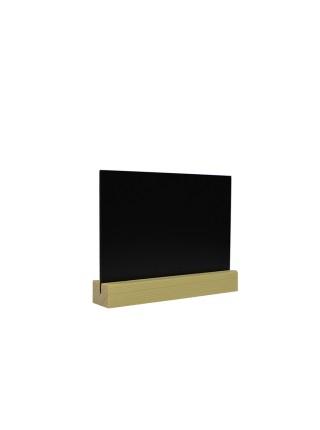 Табличка А6 на подставке из сосны, горизонталь (Сосна)