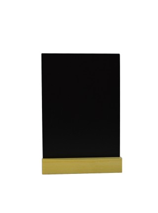 Табличка А6 на подставке из сосны, вертикаль (Сосна)