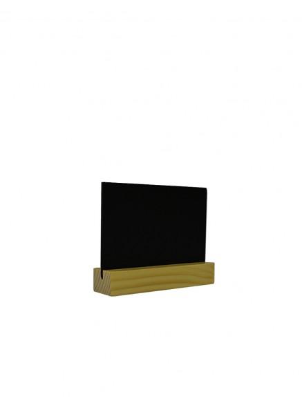 Табличка А7 на подставке из сосны, горизонталь (Сосна)