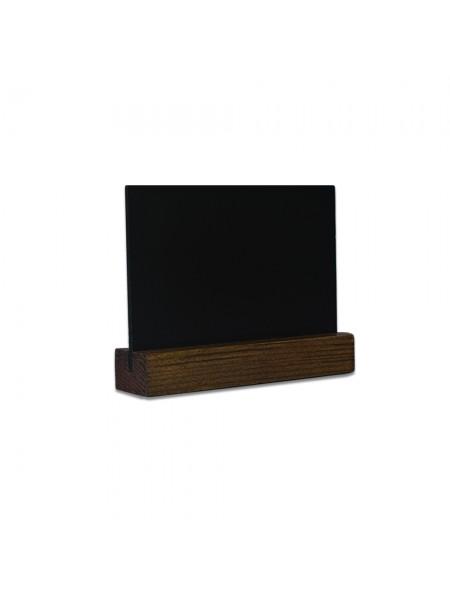 Табличка А7 на подставке из сосны, горизонталь (Пал)