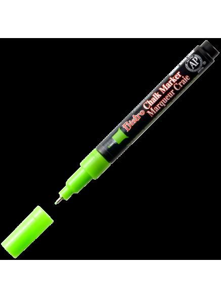 Меловой маркер Bistro 0,75мм неон-зеленый